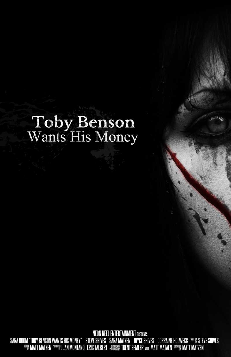 Toby Benson Wants His Money